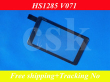 (Ref:HS1285 V071)7″ inch  LCD touch panel LCD  touch digitizer glass for  tablet PC MID