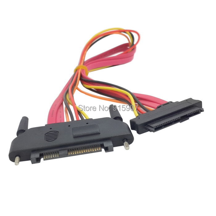 CY SFF-8482 SAS Cable 29Pin Male to Female Hard Disk DRIVE EXTENSION Cable 25cm(China (Mainland))