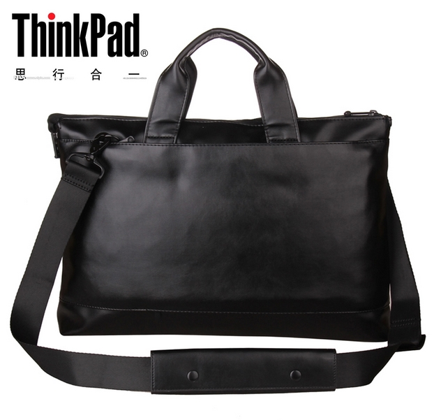 Free shipping Authentic Lenovo Thinkpad Laptop bag TL400 / T440P / T450 / 14 -inch Shoulder Bag High-end PU+Oxford cloth(China (Mainland))