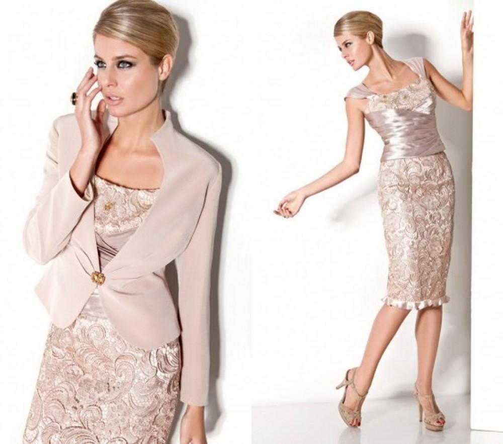 Style Mother Bride Lace Dresses Jacket Vestidos De Festas 2014 Longo Evening Party - Bridal Fashion Store store