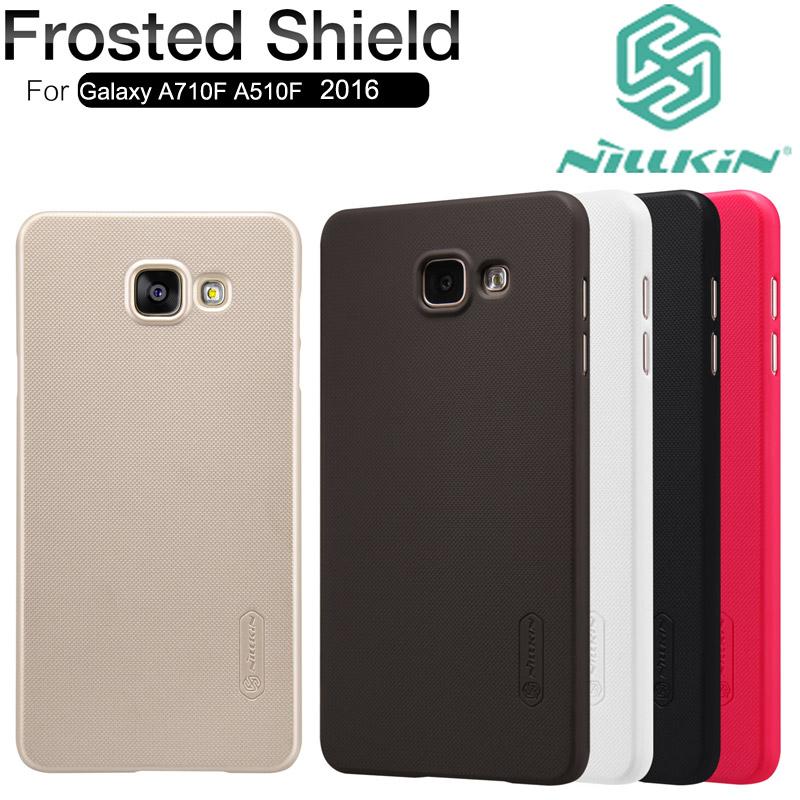 Здесь можно купить  10PCS/Lot Nillkin Super Frosted cover case for Samsung Galaxy A7 A710F A5 A510F 2016  Телефоны и Телекоммуникации