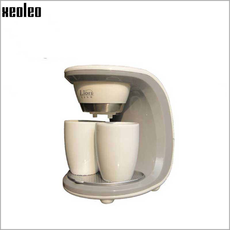 Xeoleo капельного чайник двухместный чашки 450ВТ кофе польза дома машины полностью автоматическая давление насоса кофемашина американское кафе