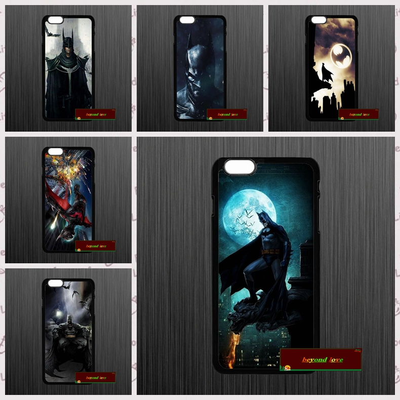 Super Heroes Batman Bat Man Phone Cases Cover iPhone 4 4S 5 5S 5C SE 6 6S 7 Plus 4.7 5.5 AM0917  -  zhu xiao bo store