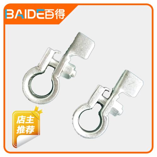 2014 new limited copper tin plating auto connector clip plus minus wire harness head battery terminal cable lugs car ressambling(China (Mainland))
