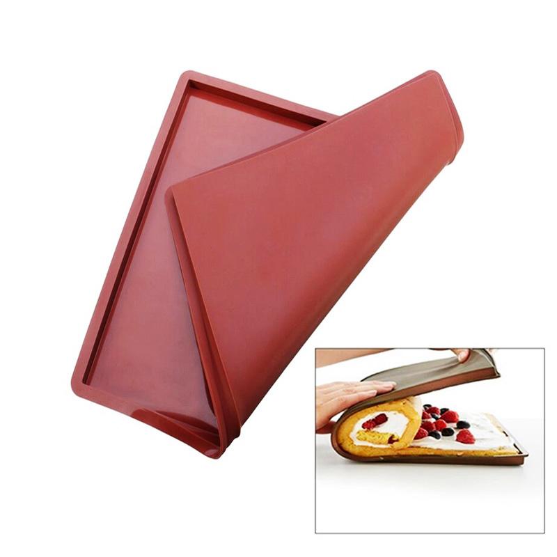 36*28 cm Anti-Aderente de Silicone Esteira de Cozimento do Forno Multifunções Almofada Bolo do Rolo Suíço Pad Bakeware Ferramentas de Cozimento atacado(China (Mainland))