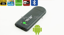 Smart TV IPTV stick, dual core RK3066 Android TV Stick, Android TV dongle MK809, 1G DDR3 + 8G ROM, XBMC reproductor multimedia, WIFI, HDMI