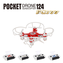 Original FQ777 124 Micro Pocket Drone 4CH 6Axis Gyro Switchable Controller Mini Quadcopter RTF RC Helicopter Kids Toys(China (Mainland))