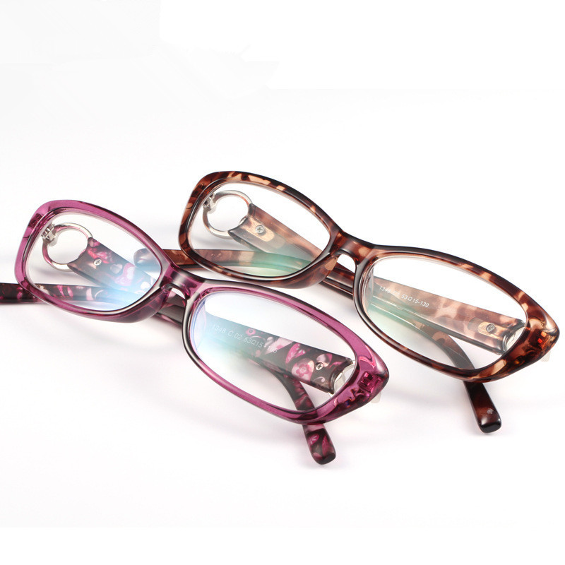 Brand Design Women Reading Glasses Purple and Leopard Colorful Fashion Glasses for Reading(China (Mainland))