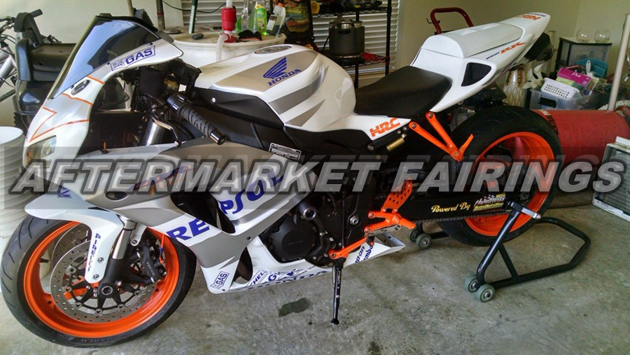 Royal Blue Repsol Customized ABS 100% Fit Guarantee CBR1000RR 2006 2007 Fairings Bodyworks For Honda Kits