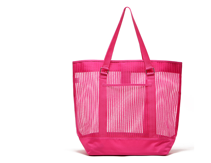 2015 new hot bright candy colors Oversized mesh bag resort beach bag classic simplicity Mummy package(China (Mainland))