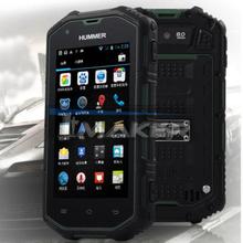 Smartphone, ip67 водонепроницаемый двойной карта двойной режим ожидания Hummer H5 IPS экран Android 4.2 двухъядерный Mtk6572A