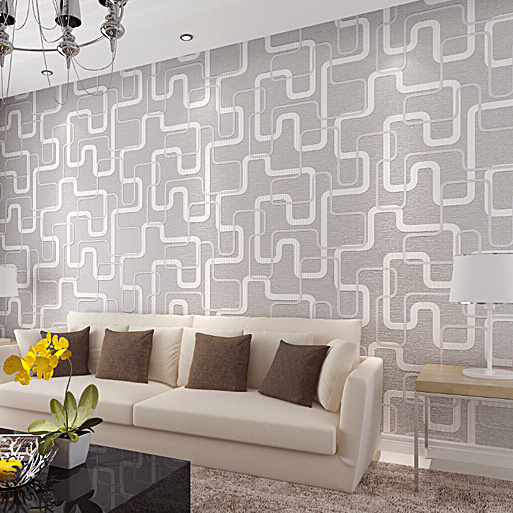 moderna carta da parati non tessuta rivestimento murale per soggiorno ...