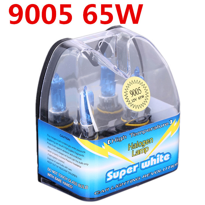 Free Shipping 9005 65W Halogen with Packing Box Low Beam Light Auto Headlight Bulbs Lamp 6000K 12V for Ford Car Styling Parking(China (Mainland))