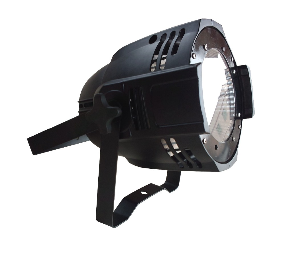 6pcs/lot Cheap led stage light full color 4 in 1 RGBW 100W led cob par can light led dmx stage lighting(China (Mainland))