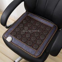Electric heated seat cushion tourmaline health care massager heated sofa cushion 45X45CM