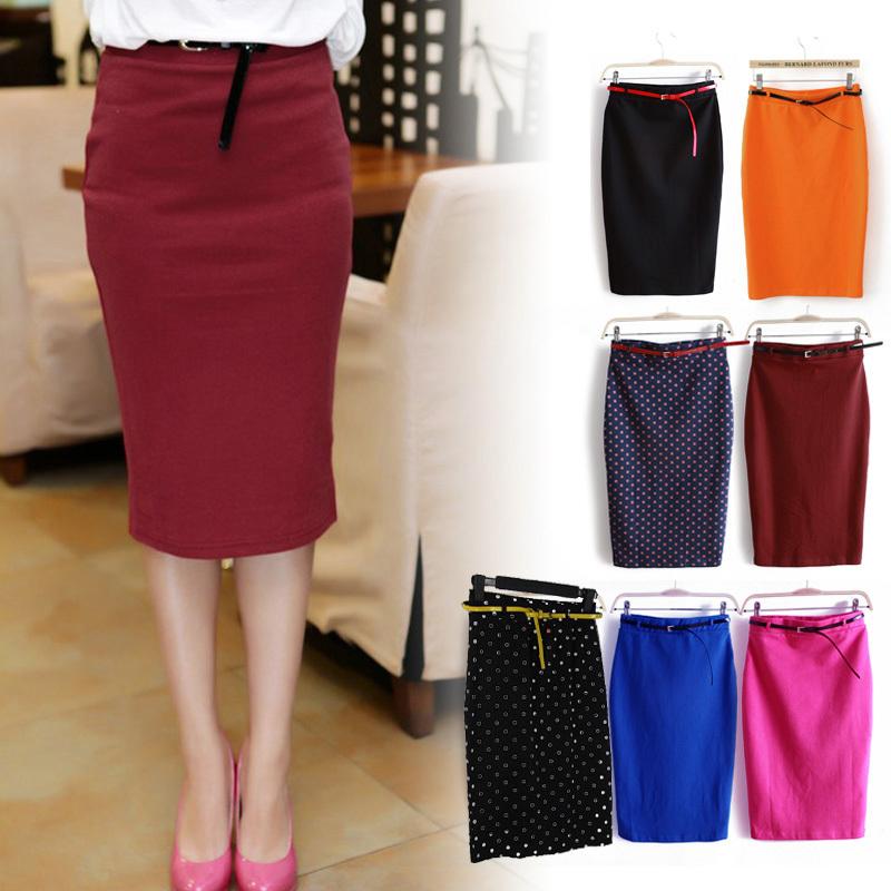 Женщин сексуальный юбка дамы завышенная талия пакет бедра лето короткая юбка одежда Vestidos с ремень