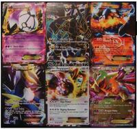 2014 New Pokemon EX Model Mega Fight Card Pokemon English Latest Battle Card EX 10 Does Not Repeat Free Shipping