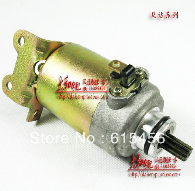 CF150 And CH125/150CC Engine Scooter Starter Motor,Free Shipping