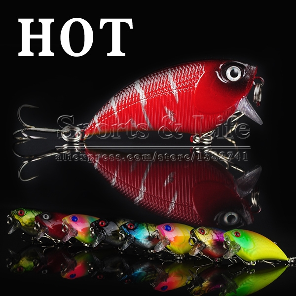 Fishing Sinking Lures Crankbait Minnow Hooks Baits Water vib lure fishing tackle 5.5cm 6.6g - Shenzhen Kobee Plastic Rubber Product Limited store