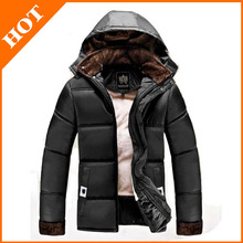 Winter Parka Men Down Jacket Men's Down Coat 2014 New Outdoor Brand Hooded Keep Warm Jackets M-3XL