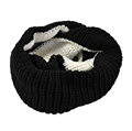 New brand 2015 Scarf Wrap winter Lovers women men Knitted Circle O Ring Scarves Wool Warm