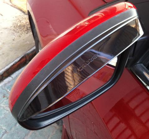 For 2009-2013 Chevrolet Cruze hatchback sedan Rearview mirror rain gear shield for Cruze auto accessories<br><br>Aliexpress