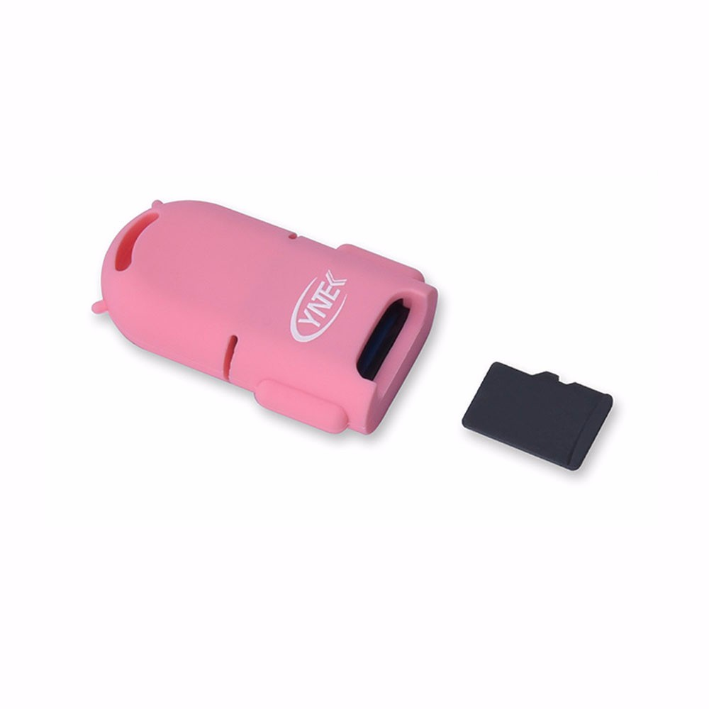 Prime High quality Moveable MINI 5Gbps Tremendous Velocity Copy Obtain Backup USB three.zero+OTG Micro SD/SDXC TF Card Reader Adapter Pink JUN1
