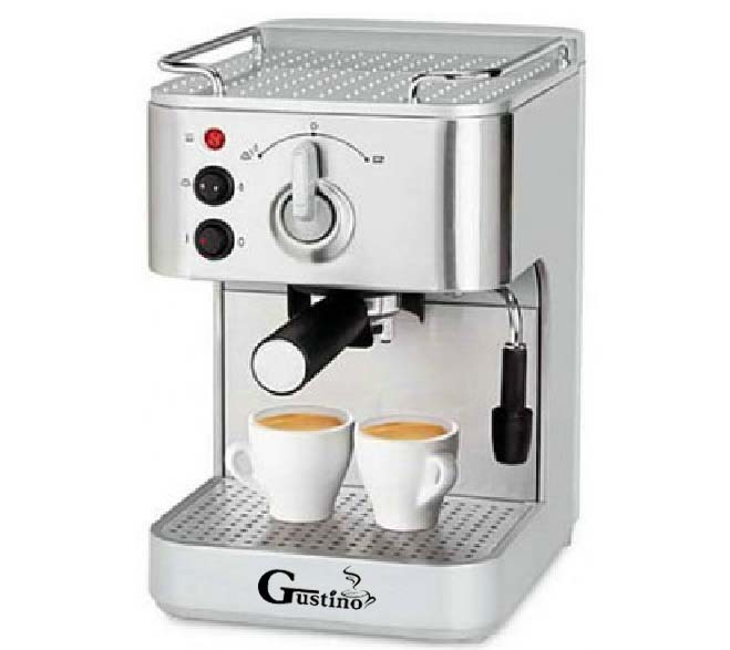 Gustino 19Bar Semi Automatic Coffee Maker Espresso Machine with Froth Milk Stainless Steel 304 Housing for Home or Office Using(China (Mainland))