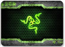Free shipping Razer mouse pad gaming mouse mat 300*240*3mm locking edge mouse mat speed version for sc2 wow dota 2 lol cs(China (Mainland))
