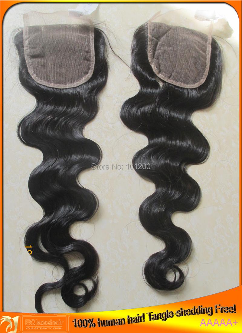 3.5x4 & 4x4 Brazilian Hair Body Wave Closures Bleached Knots,Free Part(No Part),Middle Part,3 Part - Queen 100 Human Beauty store
