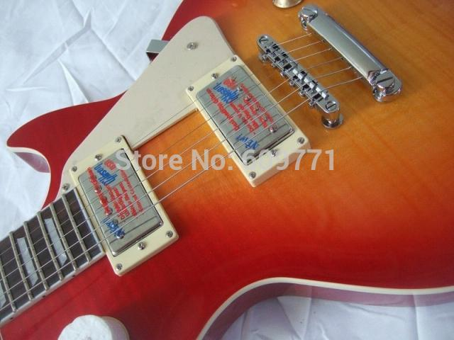 2015 line up GBson LP Deluxe Electric guitar,Mahogany top Body ,Rosewood fingerboard,Free shipping(China (Mainland))