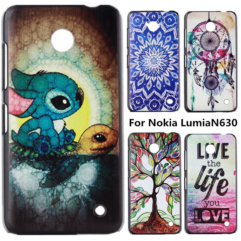 Гаджет  Anchor Cartoon Pattern Plastic Hard Back Case for Nokia Lumia 630 635 N630 N635 Phone Protective Cover Capa Celular None Телефоны и Телекоммуникации