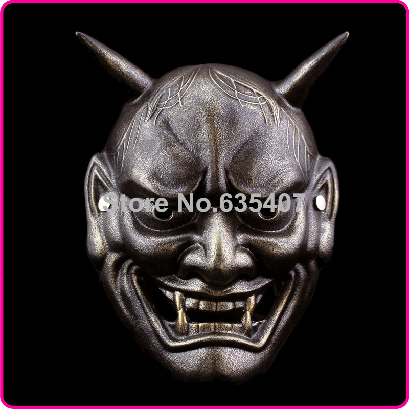 China Manufacturer Japanese Buddhism Prajna Ghost Traditional Hannya Mask Hannya Mask Small Bronze(China (Mainland))