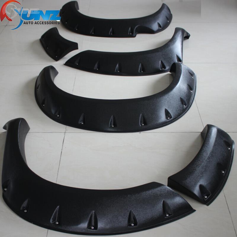 fender flare toyota hilux accessories black color mudguards fit for toyota hilux vigo 2005 2006 2007 2008 2009 2010 car parts(China (Mainland))