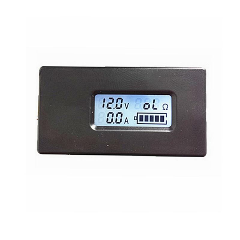 5pcs/lot Digital Battery Charger tester monitor DC 2.8-26V Volt voltmeter 0.1-10A amp ammeter show Resistence(China (Mainland))