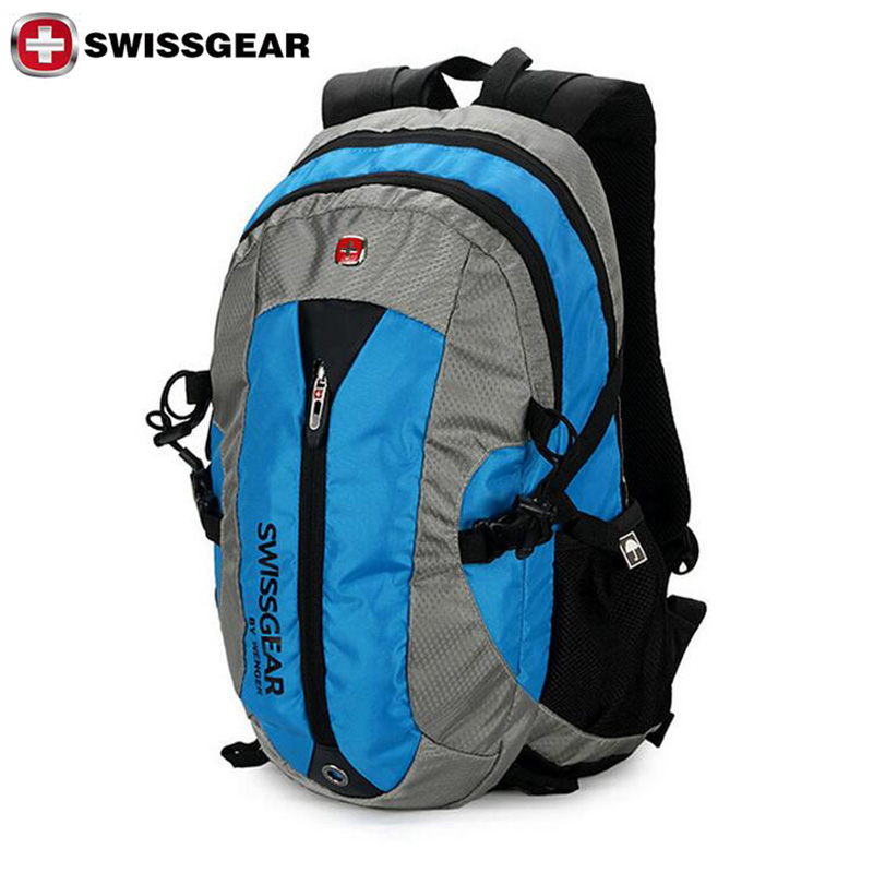 New brand swissgear travel sport waterproof 16 oxford laptop men and women backpack computer for Travel gear brand