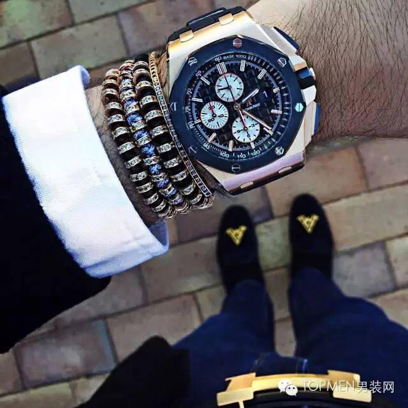 Anil Arjandas Men Bracelets,24K Gold Beaded weaving haute couture fastness of high quality Micro inlay zircon free shipping <br><br>Aliexpress