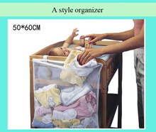 Baby Cot Bed Hanging Storage Bag Crib Organizer Toy Diaper nappy Pocket for Crib Bedding Set cheap crib bedding accessory(China)