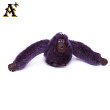ANNY-22 colors 16*4.6CM Cute Plush Orangutan Key Chain For Bag Accessorise Original Brand Kiple Lovely Monkey Accessory For Bag(China (Mainland))