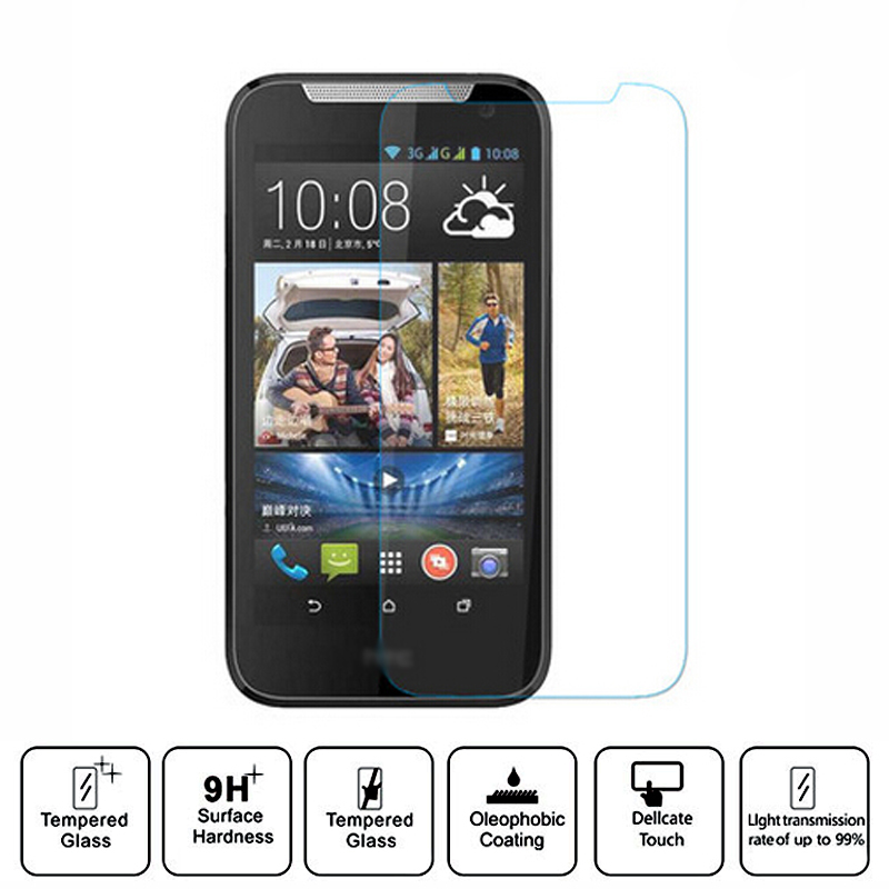 Direct Marketing 2015 Hot sale Premium Tempered Glass Screen Protector For HTC Desire 310 Toughened Glass Screen Protective(China (Mainland))