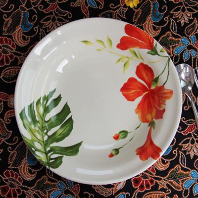 Cer mica placa plato conjunto de vajilla cuencos de for Vajilla de platos