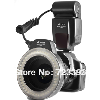Universal Viltrox JY-675 Macro Ring LED Cool-Light Lamp JY675 For Canon Nikon Sony Digital Camera +Free Shipping Tracking Number