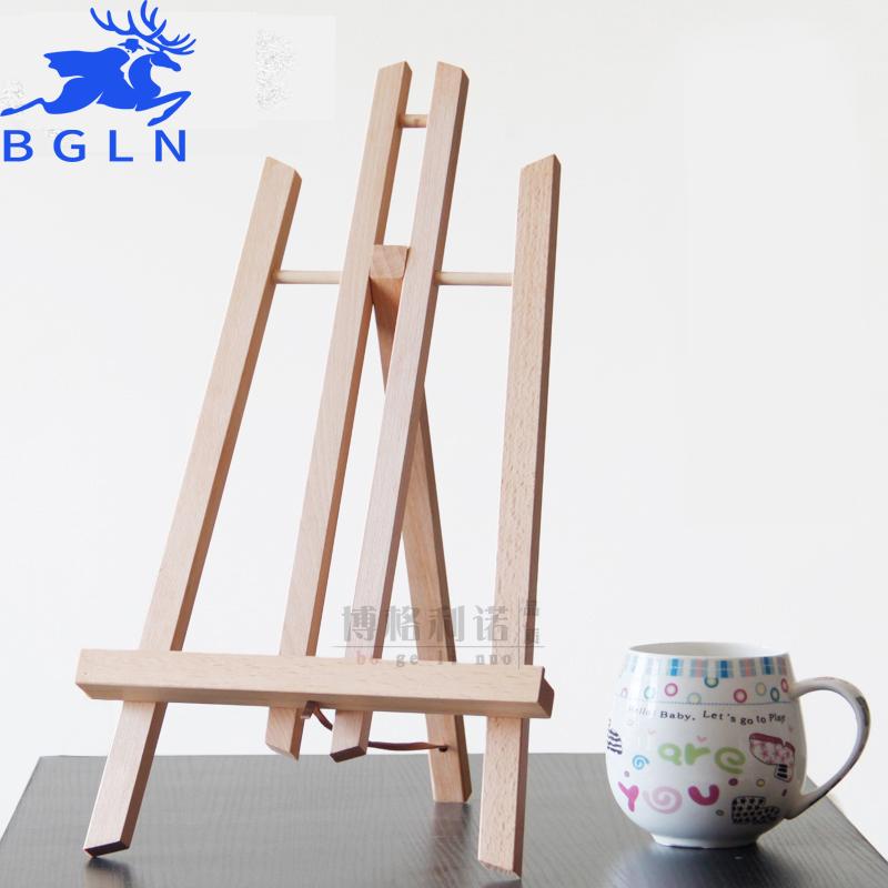 Achetez en gros en bois chevalet en ligne des grossistes en bois chevalet chinois aliexpress Mini chevalet de table