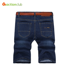 2016 Spring Summer New Fashion Mens Jeans Short Casual Sports Leisure Outdoors Joggers Trousers Man's Straight Jeans(China (Mainland))
