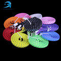 3M 10FT Extra Long Fabric Braided Flat USB Charger Data Sync Cable For Apple iPhone 5