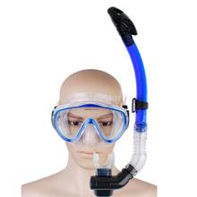 Free Shipping Blue Diving Mask and Snorkel Set(China (Mainland))