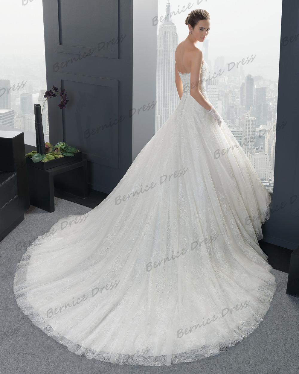 Robe De Mariee Bridal Gown Vestido Noiva Curto Lace White Polite ...