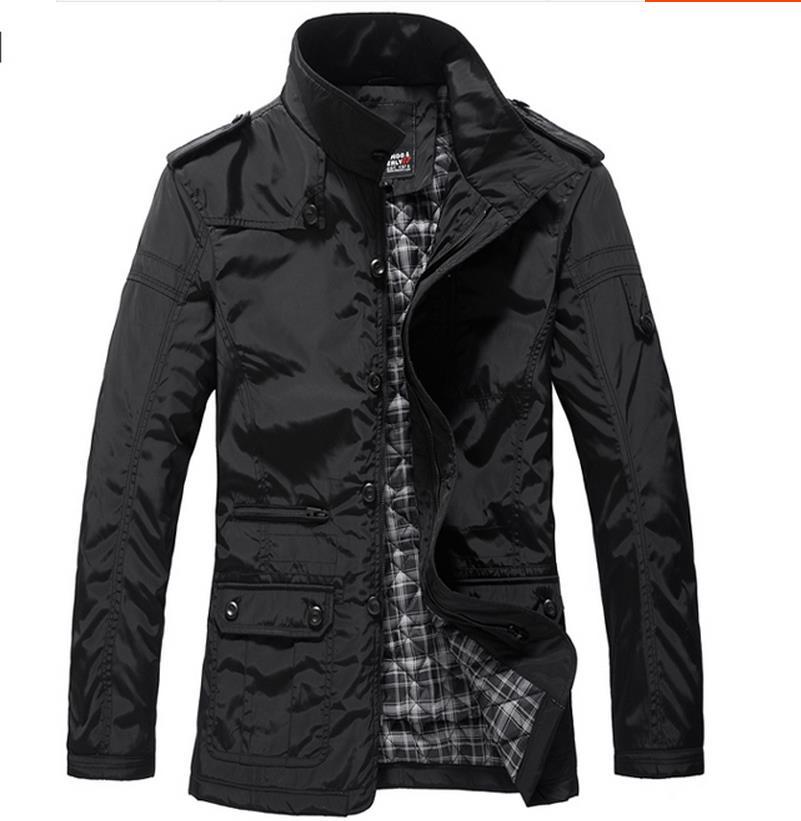 2016 Stylish Fashion High Quality Sport Jacket Coats, Men Causal Thick Outdoor Jacket,Men thick Windbreaker Zipper Coats Outwear(China (Mainland))