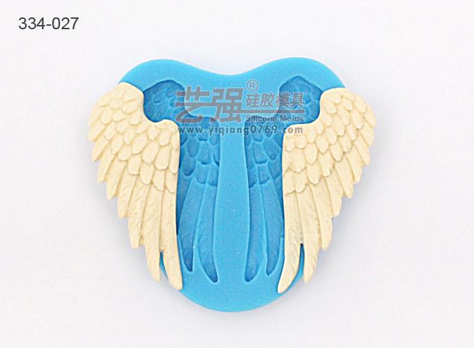 New Arrival russia angel wing silicone mold fondant cake decorating tools forma de silicone fondant molds(China (Mainland))