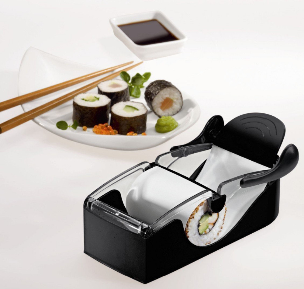 1 pcs Roll Sushi Mold model Easy Sushi Maker Roll Ball Cutter Roller Rice Mold DIY kitchen accessories Tool FreeShipping(China (Mainland))